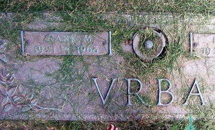 VRBA, FRANK M. - Linn County, Iowa | FRANK M. VRBA