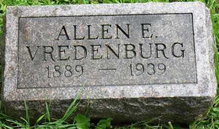 VREDENBURG, ALLEN E. - Linn County, Iowa   ALLEN E. VREDENBURG