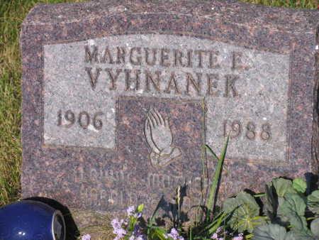 VYHNANEK, MARGUERITE E. - Linn County, Iowa   MARGUERITE E. VYHNANEK