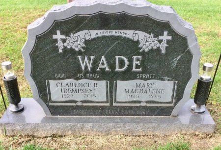 WADE, MARY MAGDALENE - Linn County, Iowa | MARY MAGDALENE WADE