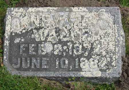 WAGOR, NEVA E. - Linn County, Iowa | NEVA E. WAGOR