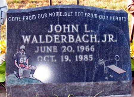 WALDERBACH, JOHN L., JR. - Linn County, Iowa | JOHN L., JR. WALDERBACH