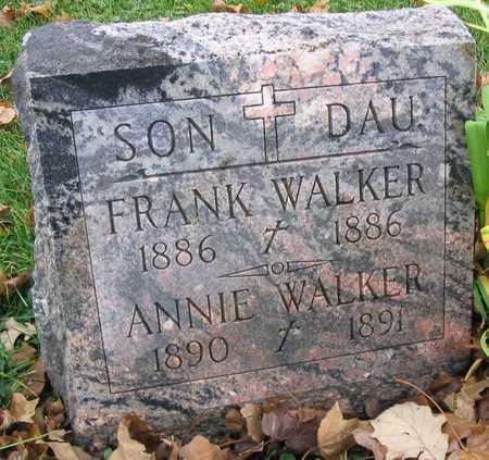 WALKER, ANNIE - Linn County, Iowa   ANNIE WALKER