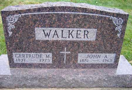 WALKER, JOHN A. - Linn County, Iowa | JOHN A. WALKER