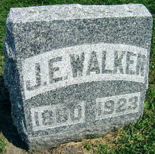 WALKER, J. E. - Linn County, Iowa | J. E. WALKER