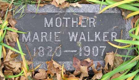 WALKER, MARIE - Linn County, Iowa | MARIE WALKER
