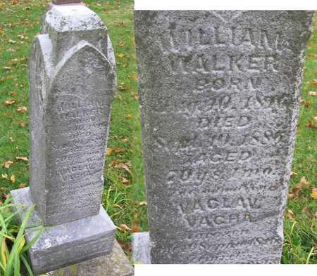 WALKER (VACHA), WILLIAM (VACLAV) - Linn County, Iowa | WILLIAM (VACLAV) WALKER (VACHA)