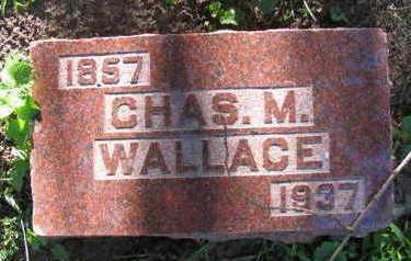 WALLACE, CHAS. M. - Linn County, Iowa | CHAS. M. WALLACE