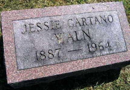 CARTANO WALN, JESSIE - Linn County, Iowa | JESSIE CARTANO WALN