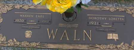 WALN, DOROTHY LORETTA - Linn County, Iowa | DOROTHY LORETTA WALN