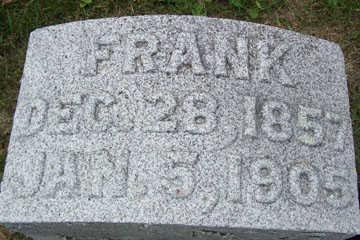 WALSER, FRANK - Linn County, Iowa   FRANK WALSER