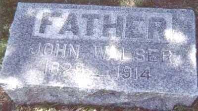 WALSER, JOHN - Linn County, Iowa | JOHN WALSER