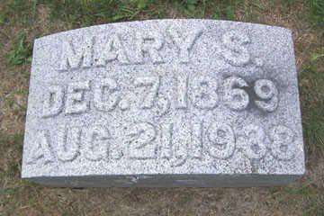 WALSER, MARY S. - Linn County, Iowa   MARY S. WALSER