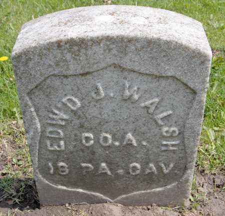 WALSH, EDWARD J. - Linn County, Iowa | EDWARD J. WALSH