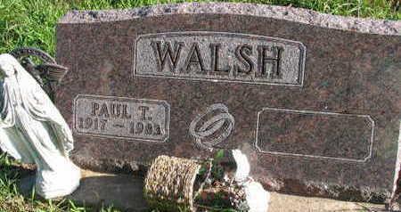 WALSH, PAUL T. - Linn County, Iowa | PAUL T. WALSH