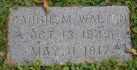 WALTON, CARRIE M. - Linn County, Iowa | CARRIE M. WALTON