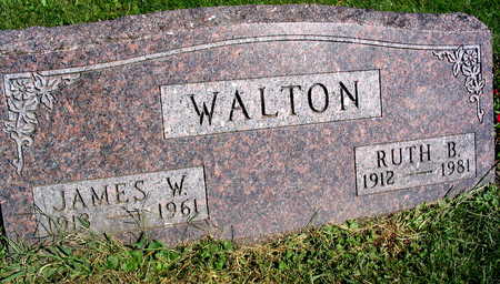 WALTON, RUTH B. - Linn County, Iowa | RUTH B. WALTON
