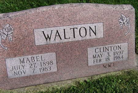 WALTON, CLINTON - Linn County, Iowa | CLINTON WALTON