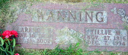 WANNING, CLARENCE E. - Linn County, Iowa | CLARENCE E. WANNING