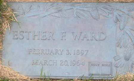 WARD, ESTHER F - Linn County, Iowa | ESTHER F WARD