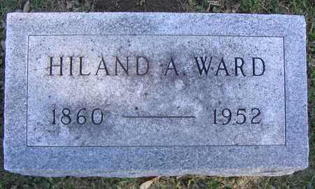 WARD, HILAND A. - Linn County, Iowa | HILAND A. WARD
