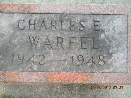 WARFEL, CHARLES E - Linn County, Iowa | CHARLES E WARFEL