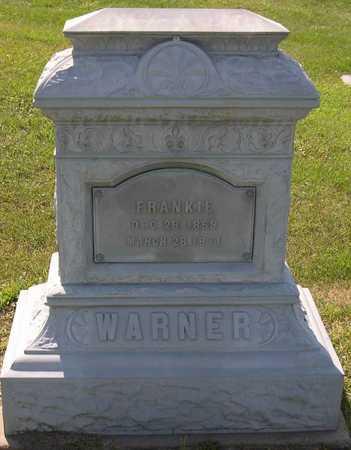 WARNER, FRANKIE - Linn County, Iowa   FRANKIE WARNER