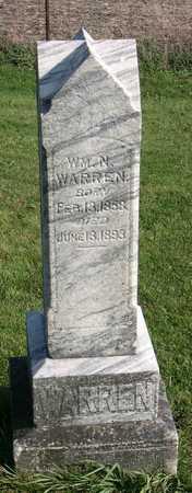 WARREN, WM. N. - Linn County, Iowa | WM. N. WARREN