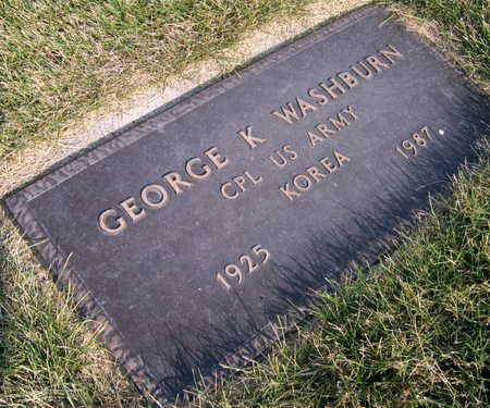 WASHBURN, GEORGE K. - Linn County, Iowa | GEORGE K. WASHBURN