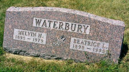 WATERBURY, MELVIN H. - Linn County, Iowa | MELVIN H. WATERBURY