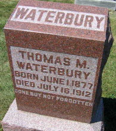 WATERBURY, THOMAS M. - Linn County, Iowa   THOMAS M. WATERBURY