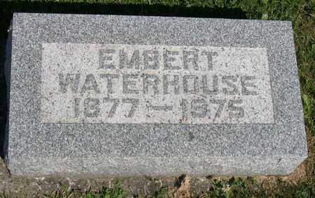 WATERHOUSE, EMBERT - Linn County, Iowa   EMBERT WATERHOUSE