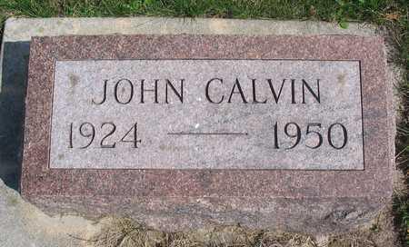 WATERHOUSE, JOHN CALVIN - Linn County, Iowa | JOHN CALVIN WATERHOUSE
