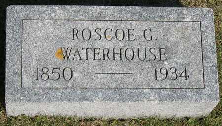 WATERHOUSE, ROSCOE G. - Linn County, Iowa | ROSCOE G. WATERHOUSE