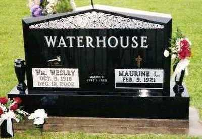 WATERHOUSE, WILLIAM WESLEY - Linn County, Iowa | WILLIAM WESLEY WATERHOUSE