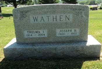 WATHEN, JOSEPH H. - Linn County, Iowa | JOSEPH H. WATHEN