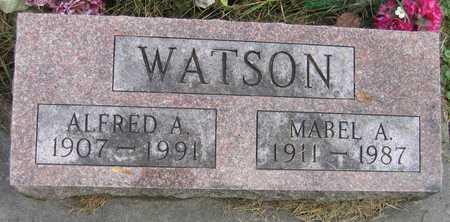 WATSON, MABEL A. - Linn County, Iowa | MABEL A. WATSON
