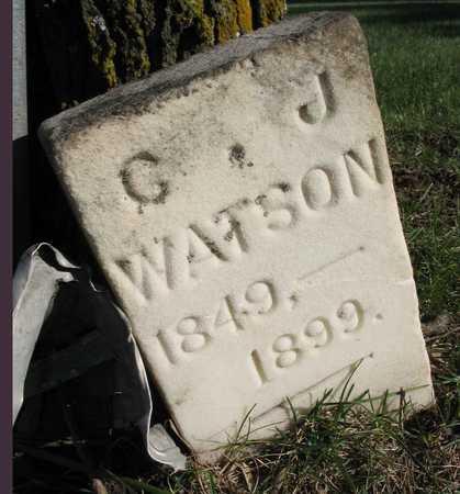 WATSON, C. J. - Linn County, Iowa | C. J. WATSON