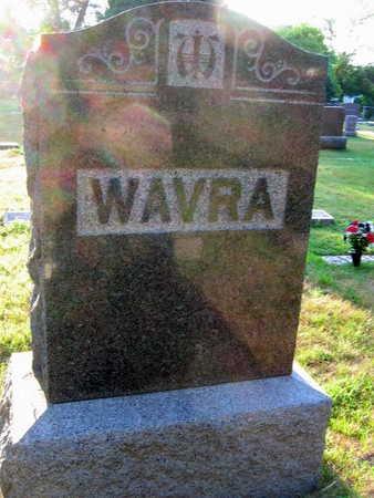 WAVRA, FAMILY STONE - Linn County, Iowa | FAMILY STONE WAVRA