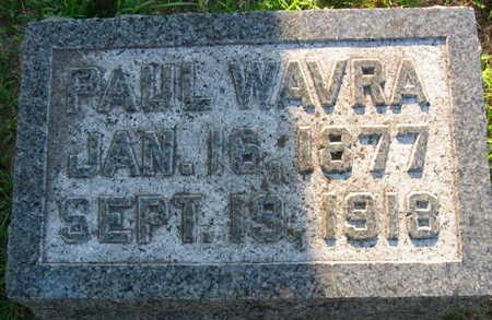 WAVRA, PAUL - Linn County, Iowa | PAUL WAVRA
