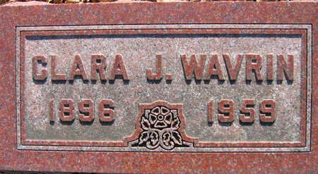 WAVRIN, CLARA J. - Linn County, Iowa | CLARA J. WAVRIN
