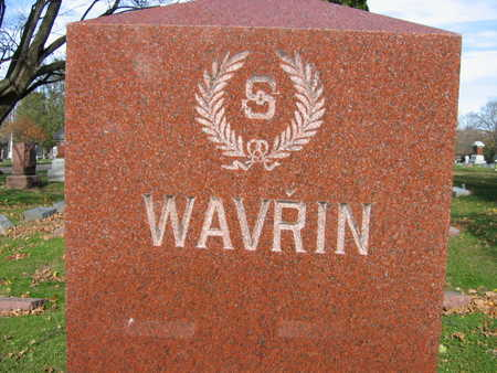 WAVRIN, FAMILY STONE - Linn County, Iowa | FAMILY STONE WAVRIN