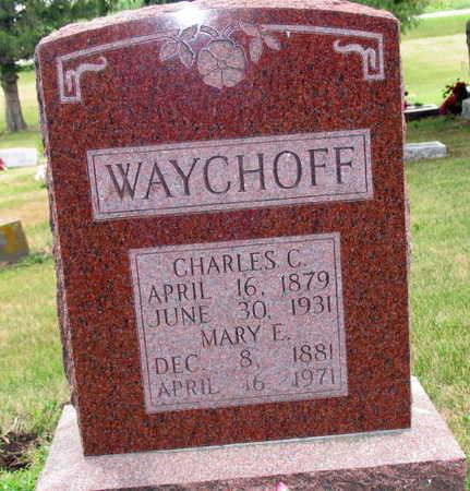 WAYCHOFF, MARY E. - Linn County, Iowa | MARY E. WAYCHOFF