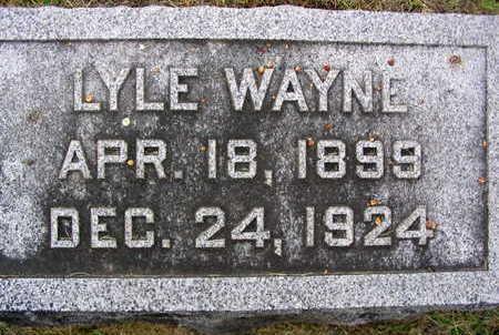 WAYNE, LYLE - Linn County, Iowa | LYLE WAYNE