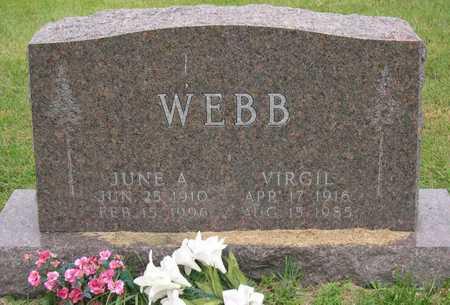 WEBB, VIRGIL - Linn County, Iowa | VIRGIL WEBB
