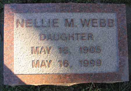 WEBB, NELLIE M. - Linn County, Iowa | NELLIE M. WEBB
