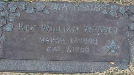 WEBBER, REX WILLIAM - Linn County, Iowa   REX WILLIAM WEBBER