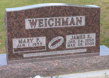 WEICHMAN, JAMES R. - Linn County, Iowa | JAMES R. WEICHMAN