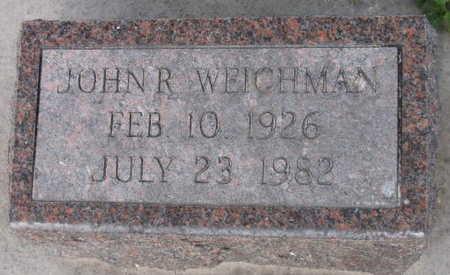 WEICHMAN, JOHN R. - Linn County, Iowa | JOHN R. WEICHMAN