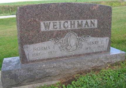 WEICHMAN, NORMA I. - Linn County, Iowa   NORMA I. WEICHMAN